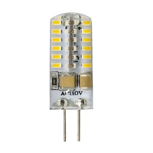 2.2W LED Corn Bulb, G4, Bi-Pin, 576 lm, 110V, 6400K