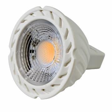 7W LED MR16 COB Bulb, 2-Pin Base, 12V, 2700K