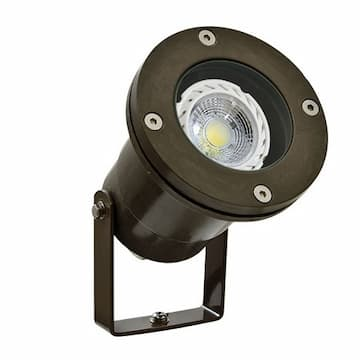 3W LED Directional Spot Light, MR16, Bi-Pin, 12V, 2700K, Bronze