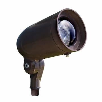 7W LED Directional Spot Light, 120V-277V, 6000K, Bronze