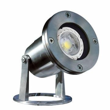 Dabmar 3W LED Underwater Light, MR16, 12V, 2700K, Stainless Steel