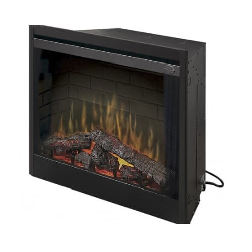 """Dimplex 39"""" Deluxe Electric Fireplace, Built-in, Purifire"""