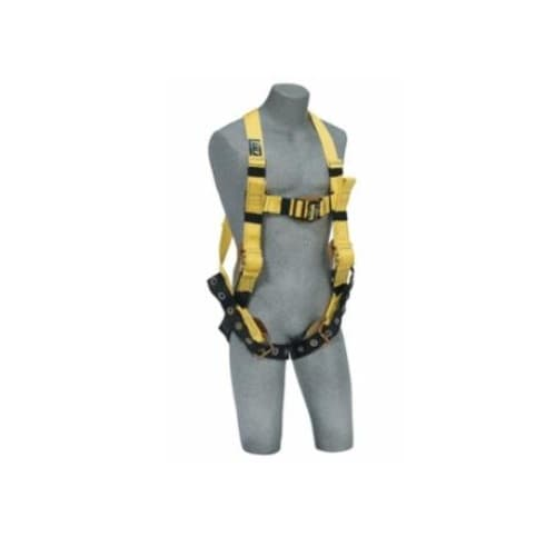 DBI/Sala Construction Harness with Side D-Rings  and Quick Connect Buckles, Large
