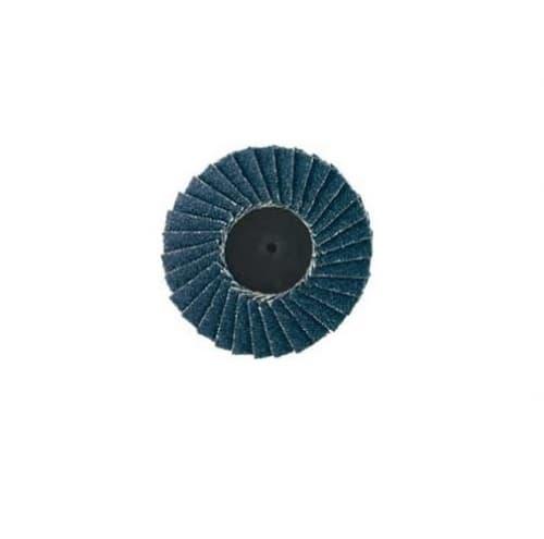 Dynabrade 3-in Locking-Type Flap Disc, 40 Grit, Alumina Zirconia