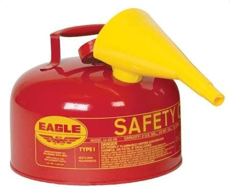 Eagle 2 Gallon Galvanized Steel Type 1 Safety Can