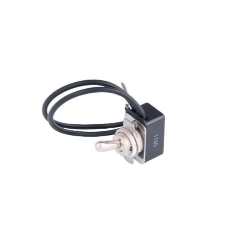Calterm 10 Amp Metal Toggle Switch w/ Leads