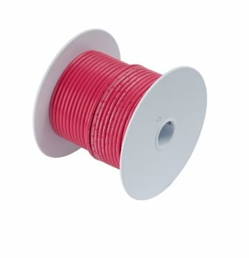 40 FT #18 AWG Red Primary Copper Wire