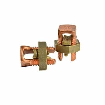 2 AWG Copper Split Bolt Connector, 2 Pack