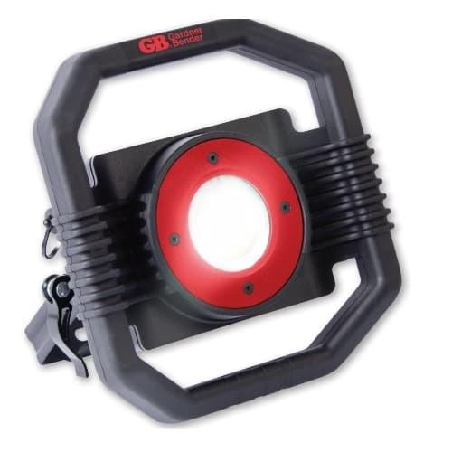 30W LED Heavy Duty Work Light w/ Battery & Power Cord, 3000 lm, 6000K