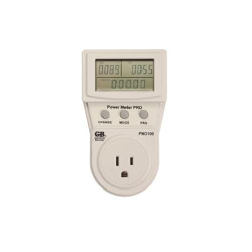 Gardner Bender Energy Usage Meter Monitor Plus