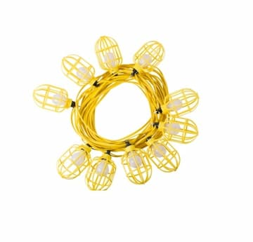100 ft Flat Wire Temp Light String