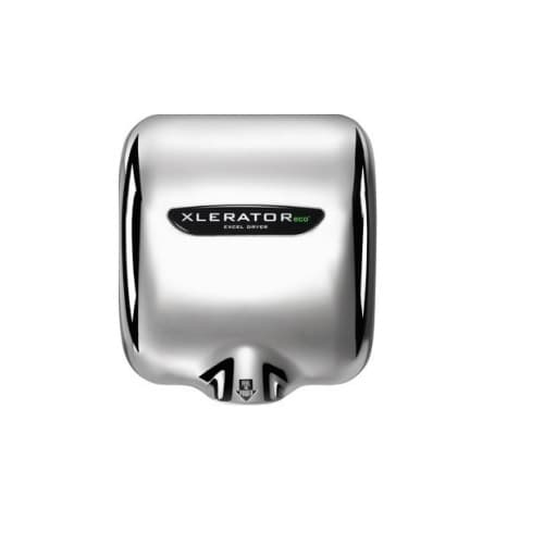 Excel Dryer Xlerator ECO Automatic Hand Dryer w/ HEPA Filter, Chrome Plated