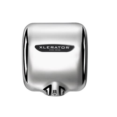 Excel Dryer Xlerator High Speed Automatic Hand Dryer, Chrome, 277V