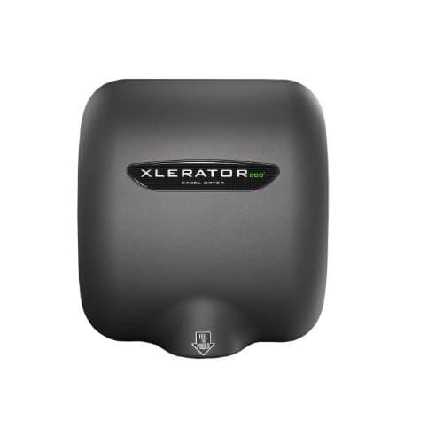 Excel Dryer Xlerator ECO Automatic Hand Dryer, No Heat Element, Graphite, 277V