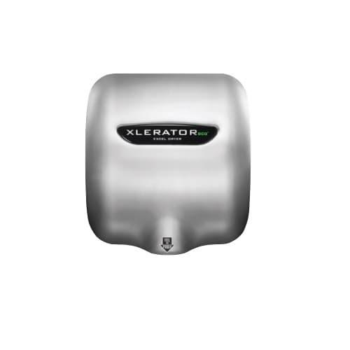 Excel Dryer Xlerator ECO Automatic Hand Dryer, Stainless Steel, Custom Image