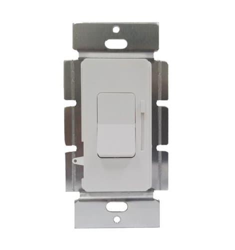 Enerlites 0-10V Single Pole & 3-Way LED Dimmer Controller, White