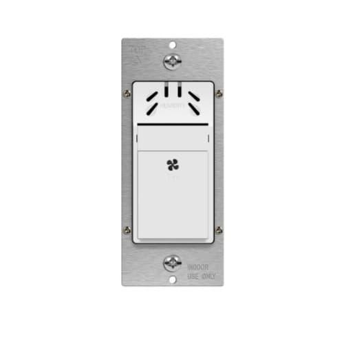 Humidity Sensor Wall Switch, Single-Pole, 3A, 120V