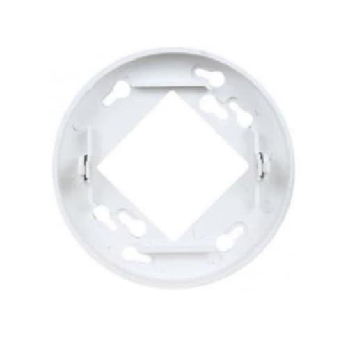 Ceiling Mount Adapter for Sensors, White