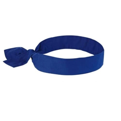 Ergodyne Chill-Its® 6700 Cooling Bandana Headband, Blue
