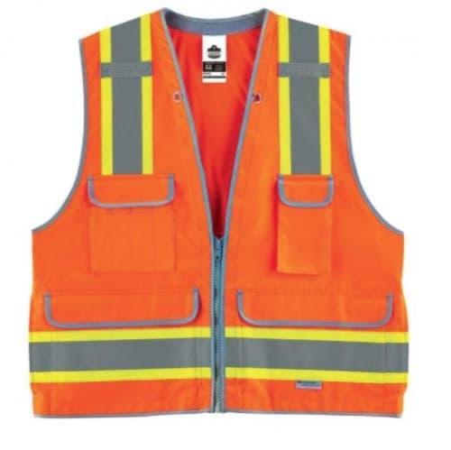 Ergodyne GloWear® 8254HDZ Type R Class Surveyors Best, 2XL/3XL, Orange