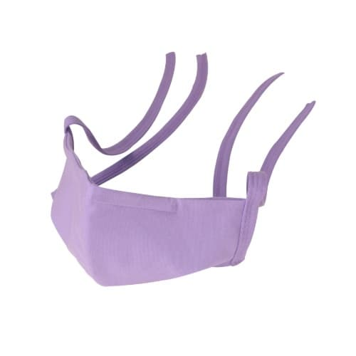 Eurotard PPE Washable Cloth Face Mask w/ Filter Insert Pocket, Assorted Color, Small