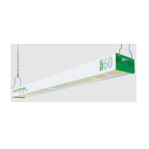 4-ft 600W LED Grow Elite GH-60 Single Strip HO Grow Light 120V-277V