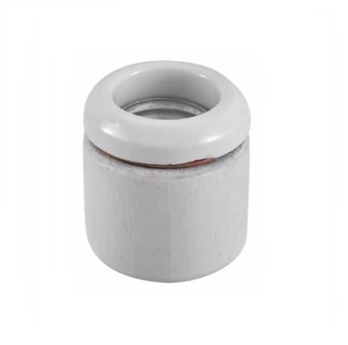 660W Lamp Holder, Keyless Switch, Medium Base, White