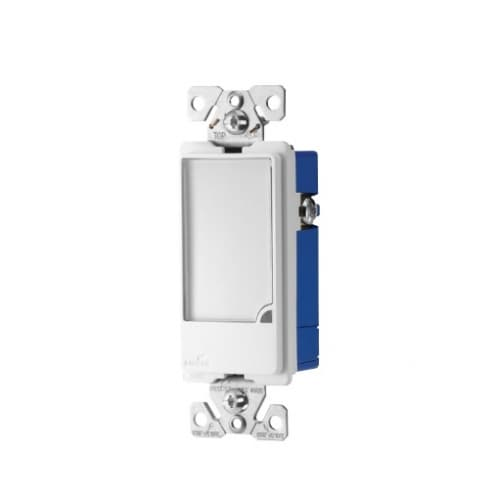 Eaton Wiring Full LED Single-Pole Wallbox Nightlight w/Sensor, Dimmable, White