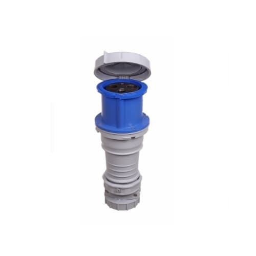 Eaton Wiring 32 Amp Pin and Sleeve Connector, 2-Pole, 3-Wire, 240V, Blue