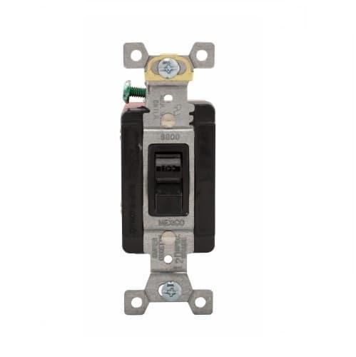 Eaton Wiring 40 Amp Motor Control Switch, Manual, 600V, Black