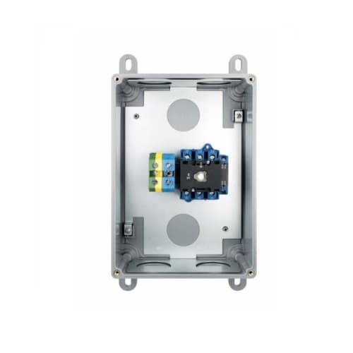 Aux Contact for 100 Amp Motor Control Disconnect Switch Enclosure, PLC Application