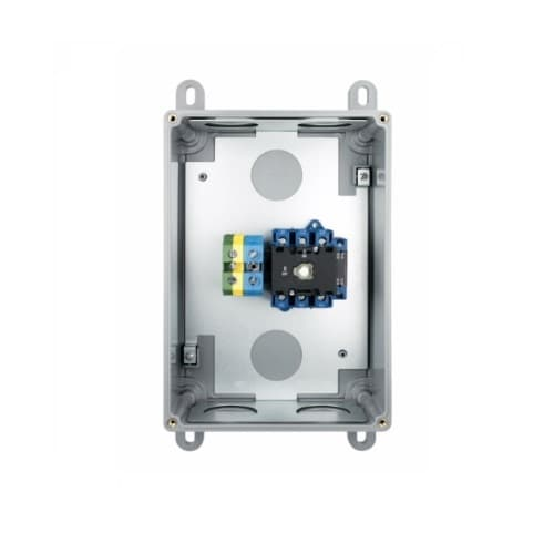 Aux Contact for 100 Amp Motor Control Disconnect Switch Enclosure, VFD Application