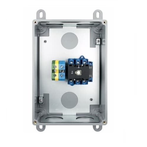 30 Amp Auxiliary Contact, Non-Fused, Steel