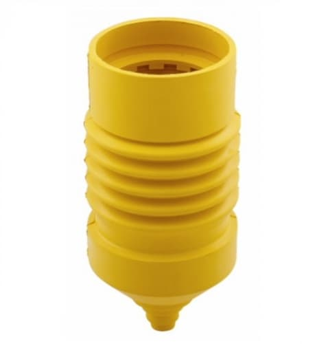 Eaton Wiring Protective Boot for 20/30 Amp 4W/5W Locking Devices, Weatherproof, Yellow