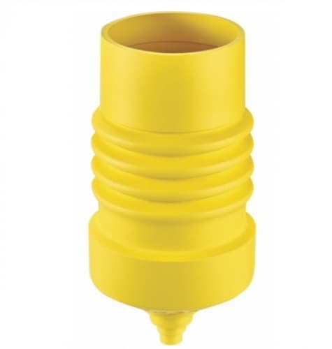 Protective Boot for 20/30 Amp 3P3W Locking Devices, Weatherproof, Yellow