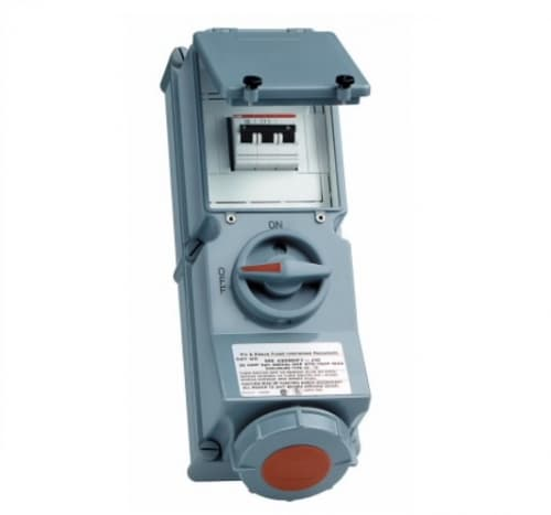 100 Amp Mechnical Interlock, Non-Fusible, Pin & Sleeve, 125/250V