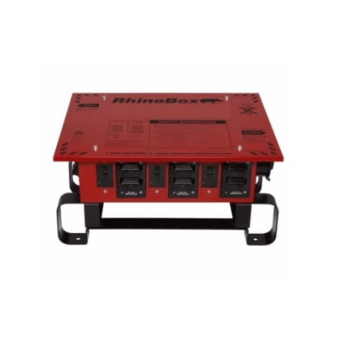 50 Amp RhinoBox Power Distribution Unit, 240V, Automatic Reset