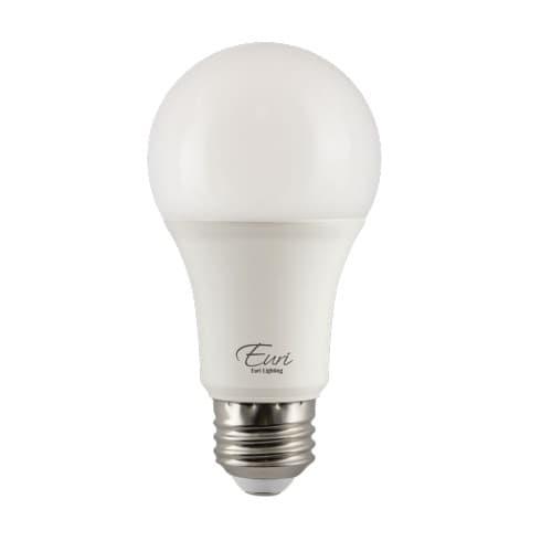 Euri Lighting 15W LED A19 Bulb, Omni-Directional, Dimmable, E26, 1600 lm, 120V, 5000K