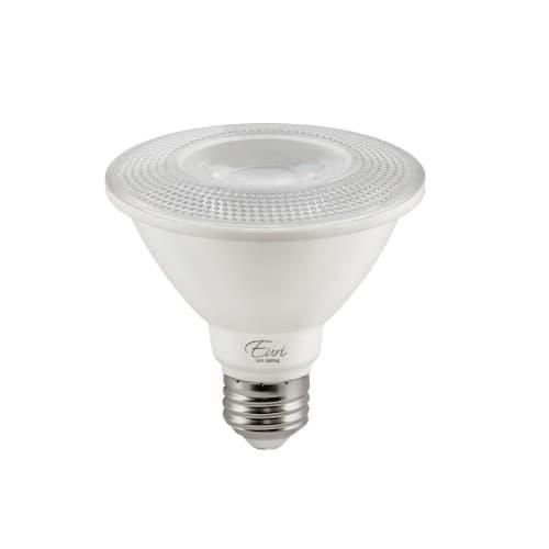 Euri Lighting 11W LED PAR30 Bulb, Short Neck, Dimmable, 40 Degree Beam, E26, 850 lm, 120V, 2700K