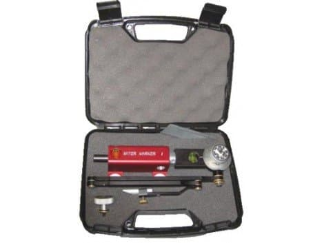 Flange Wizard Magnetic Miter Marker with Off/On Base in Carrying Case