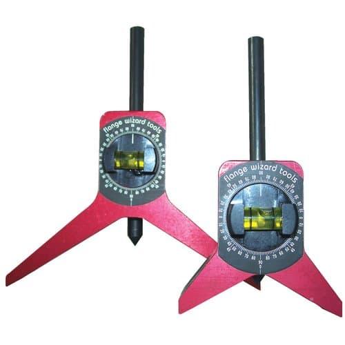 Flange Wizard Standard Magnetic Centering Head Tool w/Vial