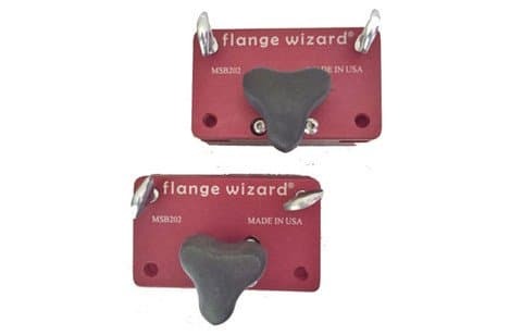 Flange Wizard Torch Guide with Magnetic Off/On Blocks