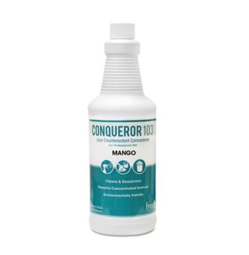Fresh Mango Scented, Conqueror 103 Odor Counteractant Concentrate-1 Quart