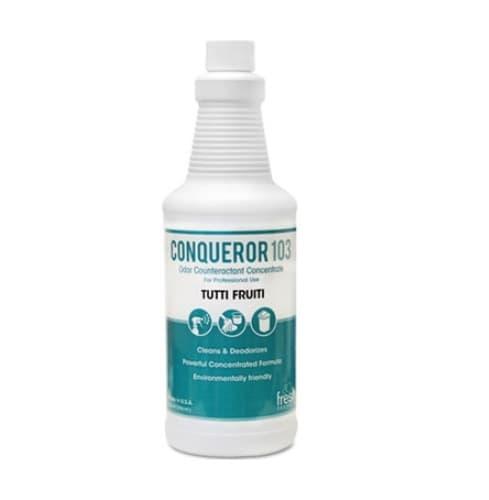 Fresh Conqueror 103 Tutti-Frutti Odor Counteractant Concentrate 32 oz.