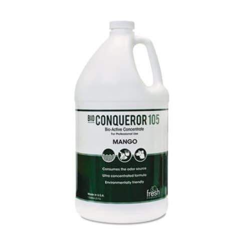 Fresh Bio Conqueror 105 Enzymatic Odor Counteractant Concentrate 1 Gal, Mango