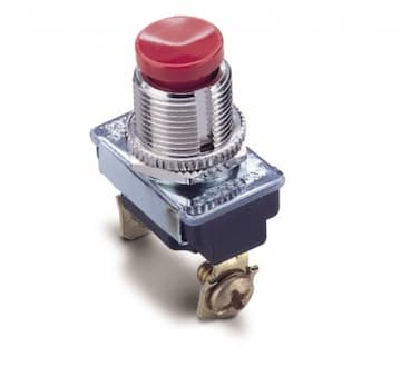 Red SPST Push-Button Switch
