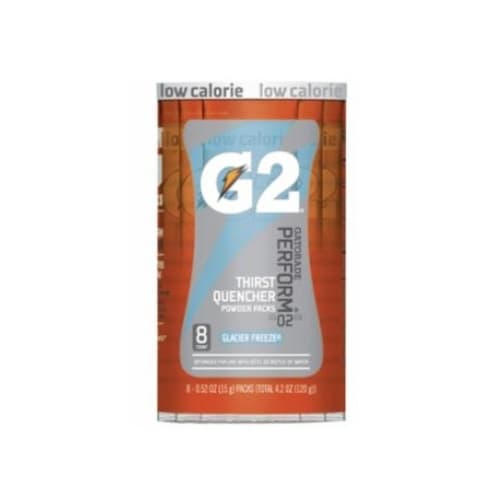 0.52 oz G2 Powder Packets, Glacier Freeze