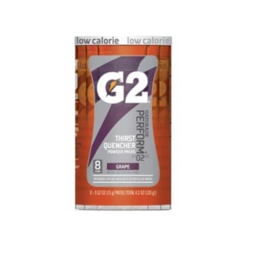 0.52 oz G2 Powder Packets, Grape