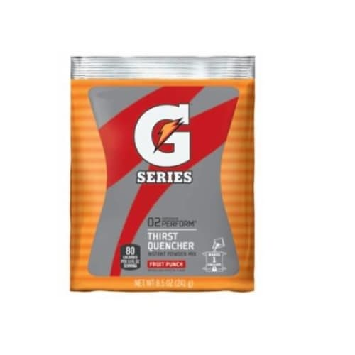 8.5 oz G-Series Instant Powder Packet, Fruit Punch