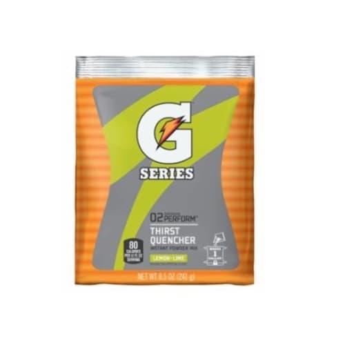 8.5 oz G-Series Instant Powder Packet, Lemon-Lime